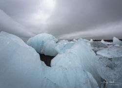 Iceland Diamond Beach (Breidamerikursandur) at Low Tide (2019)