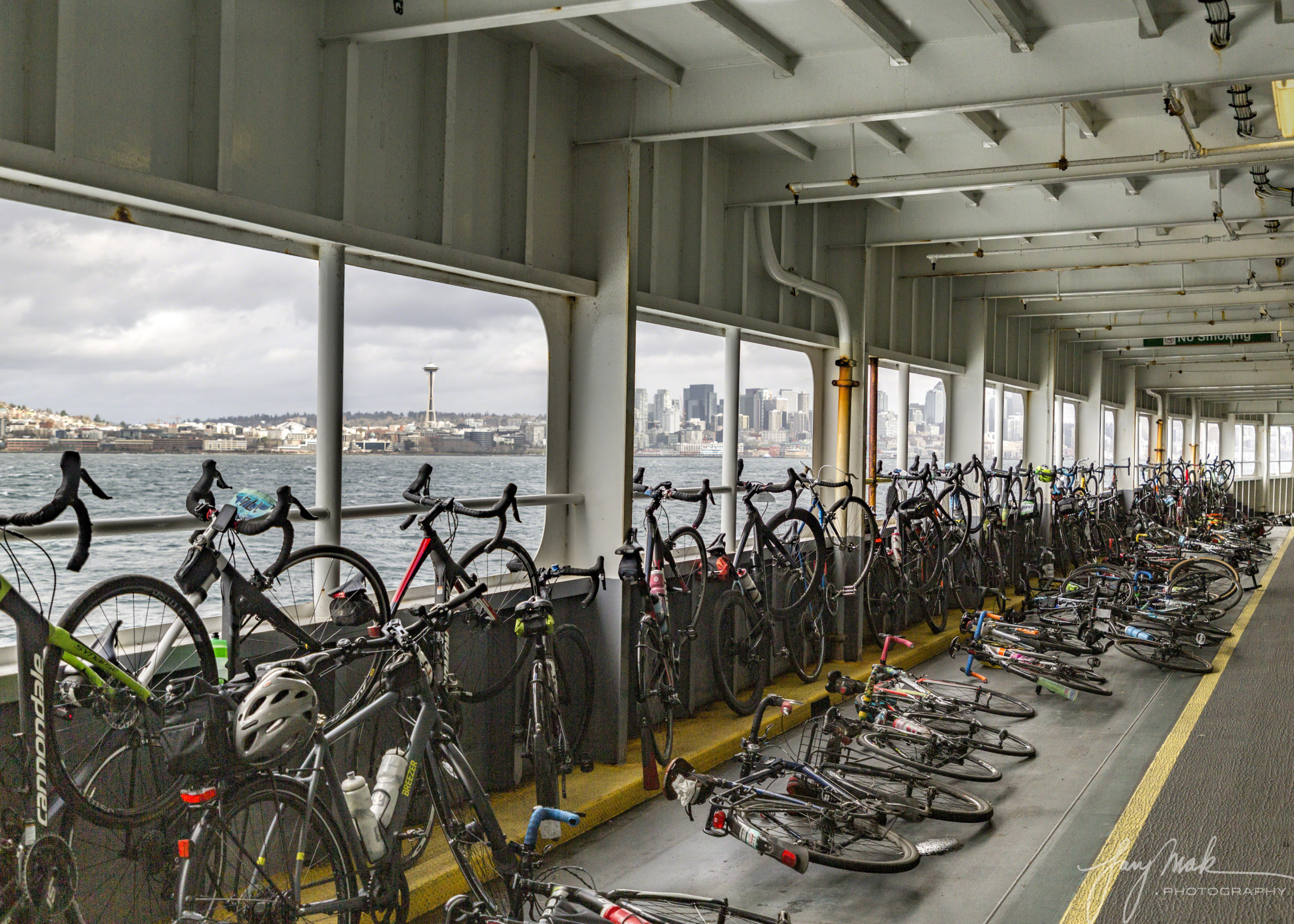 Bicycle Ladened Ferry (2019)